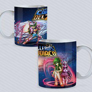 Los Caballeros del Zodiaco ANDROMEDA coffee mug